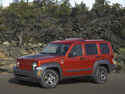Available in Sport and Jet Sport 4×2 and Sport jeep liberty
