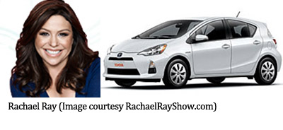 photo of Rachael Ray Toyota Prius - car