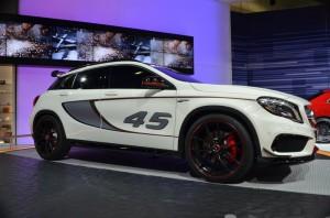 Mercedes Benz GLA SUV Concept