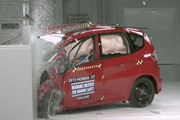 only chevy spark does well on subcompact crash test. Black Bedroom Furniture Sets. Home Design Ideas