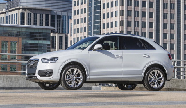 Audi Enters Luxury Compact SUV Market In U.S. With 2015