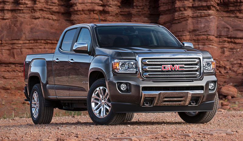 All New Midsize 2015 Gmc Canyon Debuts At 2014 Detroit
