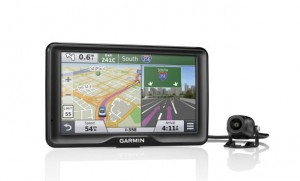 Garmin Back-Up Camera and GPS Combo. Courtesy Garmin