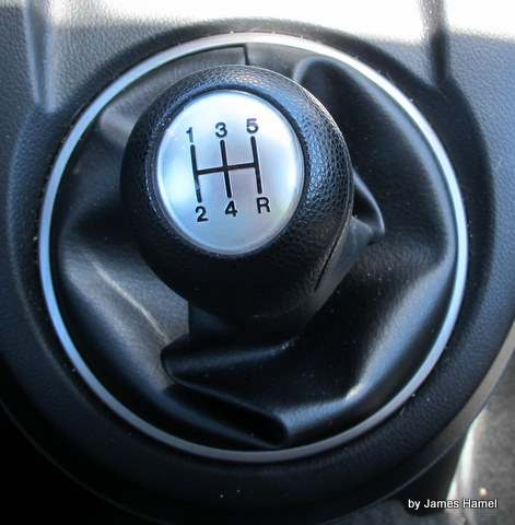 The Mazda2's manual gearbox is a joy.