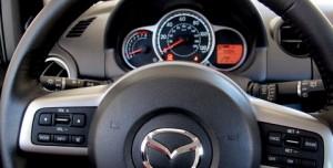 Mazda2 gauge cluster