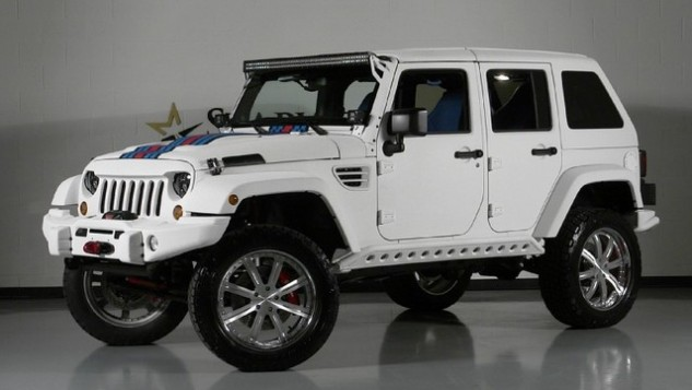 $125K Jeep Wrangler Unlimited Martini Hemi Edition: Would You Drive This  Jeep?