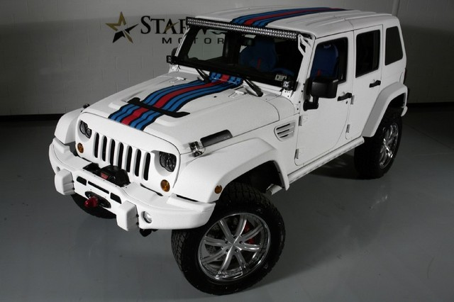 Jeep Wrangler Unlimited Martini Hemi Edition 4WD
