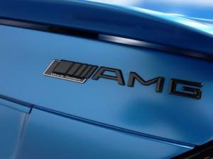 Mercedes-Benz SL-Class SL65 AMG Roadster Emblem