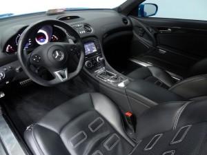 Mercedes-Benz SL-Class SL65 AMG Roadster Interior