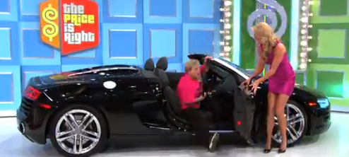 Price is Right Audi Winner