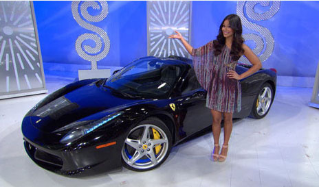 Price is Right Ferrari