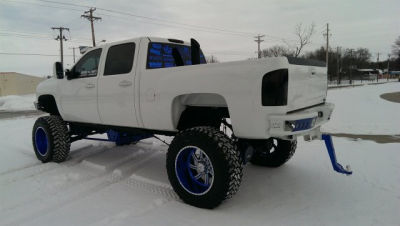 Diesel Jacked Up Truck For Sale In Iowa