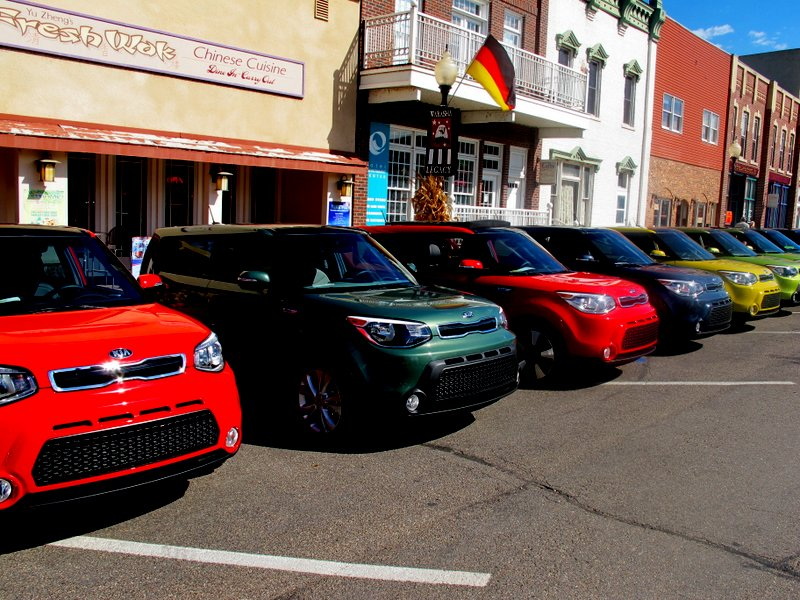 The Kia Soul is everywheere!