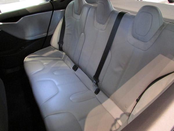 Tesla Back Seat