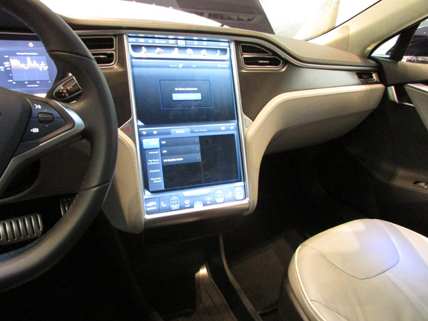 Tesla Model S STore