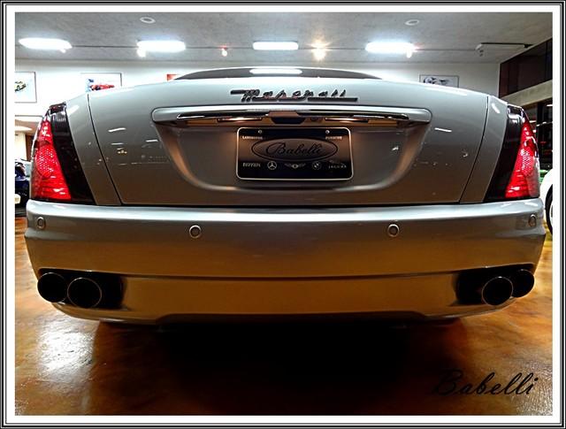 2008 Maserati Quattroporte Sport GT S rear