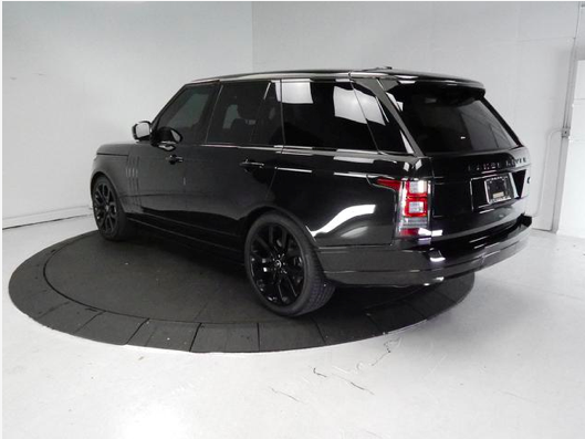 2013 Black on Black Range Rover HSE3