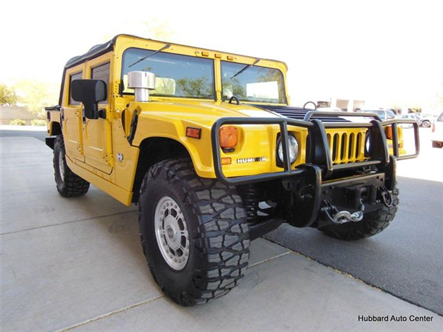 2003 Open Top Hummer H1 Would You Drive This Vehicle