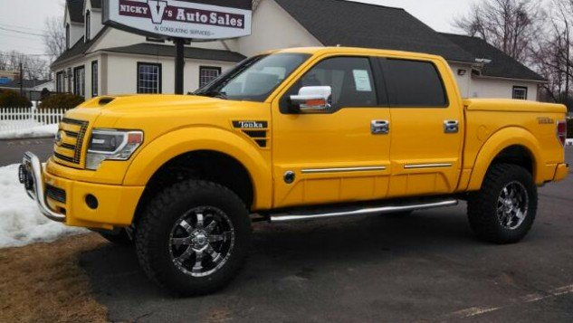 ford f 150 tonka edition would you drive this truck. Black Bedroom Furniture Sets. Home Design Ideas