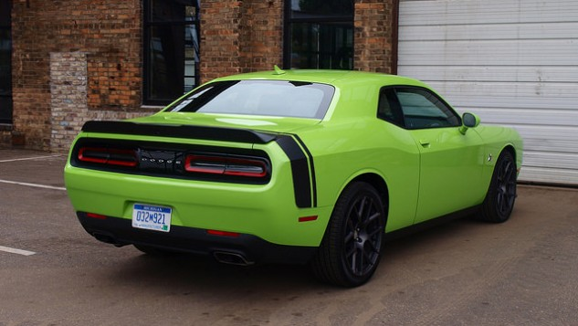 2015 Dodge Challenger Rear