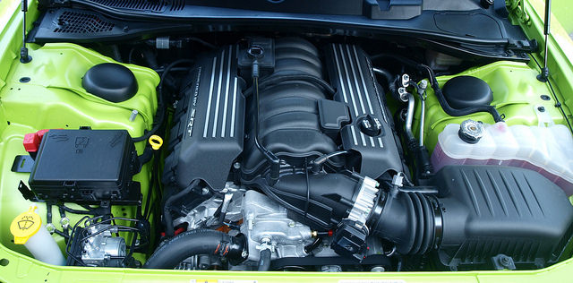 2015 Dodge Challenger Engine