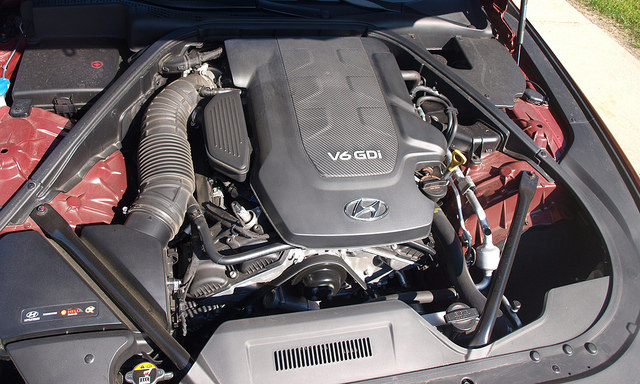 2015 Hyundai Genesis Sedan Engine