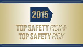 being harder to achieve 33 2015 vehicles earn iihs top safety award. Black Bedroom Furniture Sets. Home Design Ideas