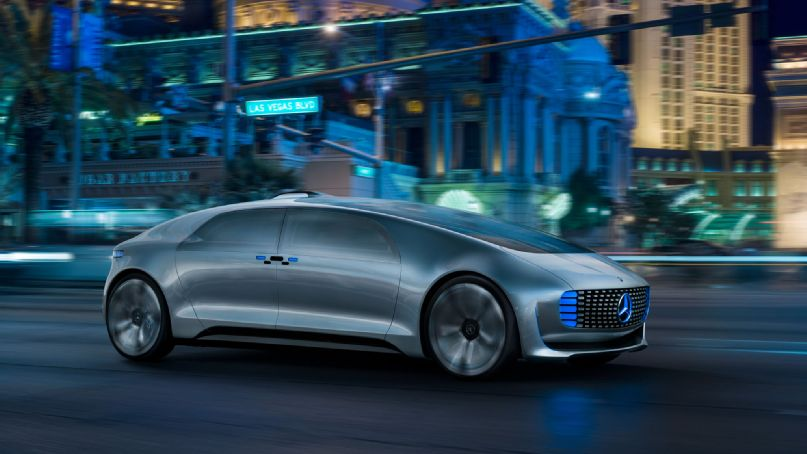 Top 10 new car technology from ces 2015 for Mercedes benz latest technology