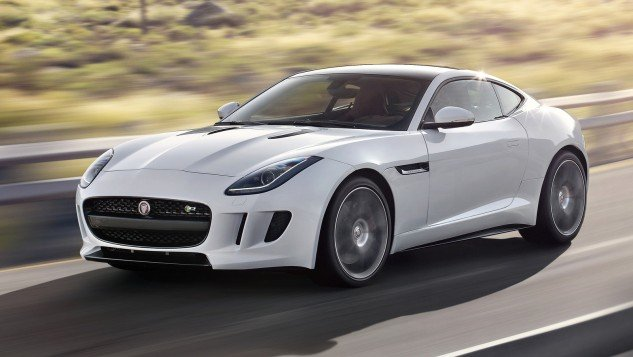 2015 Jaguar F-Type white