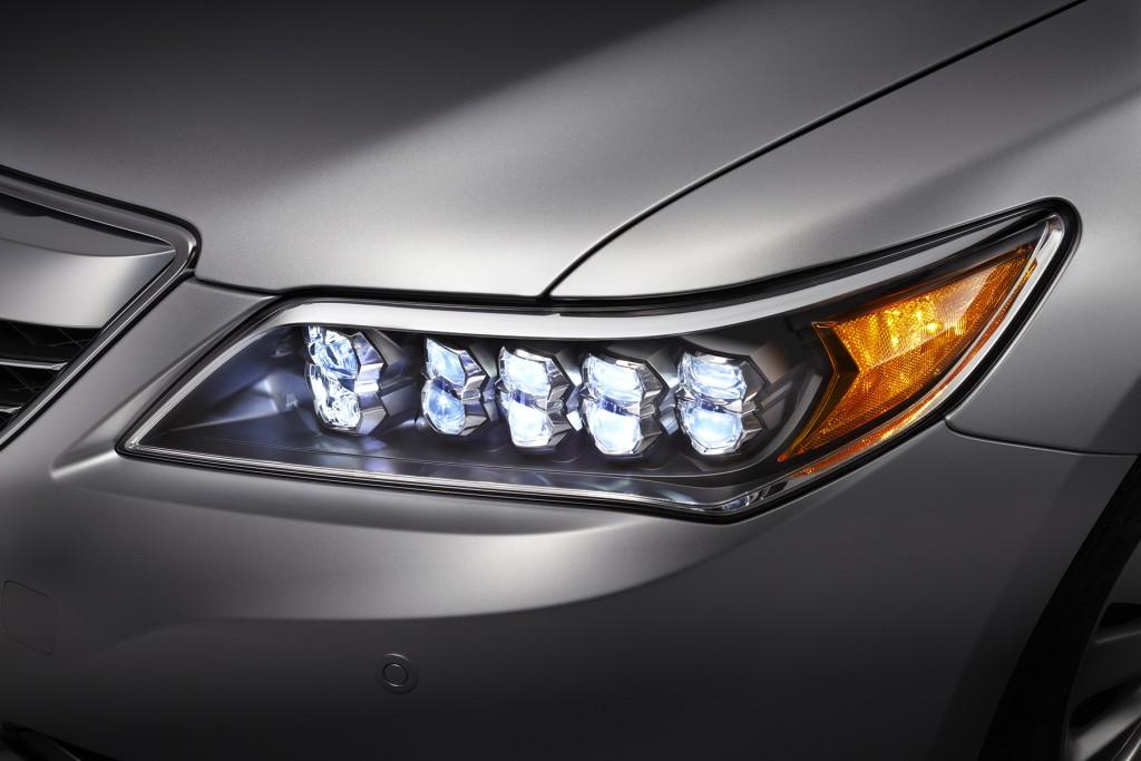 2014 Acura RLX.