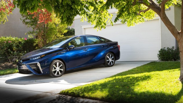 2016 Toyota Mirai Fuel Cell Vehicle