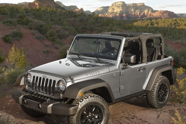 2015 Jeep Wrangler-Willys