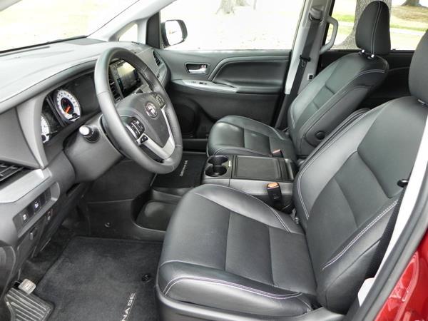 2015 Toyota Sienna - interior 2 - AOA1200px