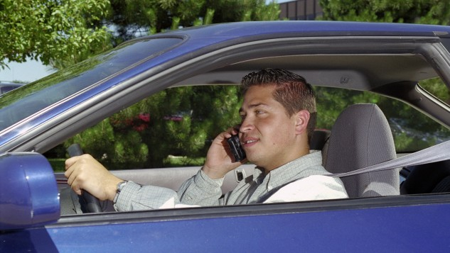 Talking on handheld phone while driving-State Farm