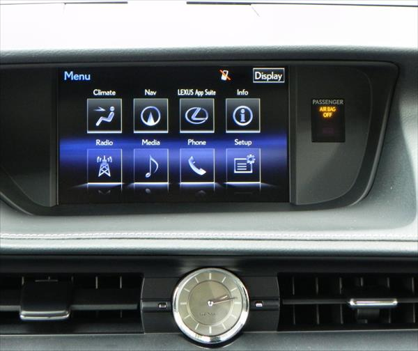 2016 Lexus ES 350 - infotainment - AOA1200px