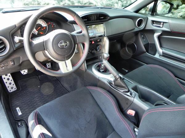 2016 Scion FR-S - interior 1 - AOA1200px