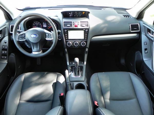 2016 Subaru Forester - interior 7 - AOA1200px