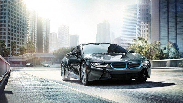 2016 BMW i8-road