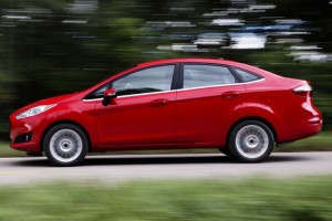 2016 Ford Fiesta-red