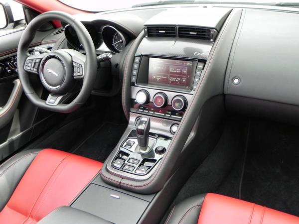 2016 Jaguar F-TYPE R Convertible - interior 4 - AOA1200px