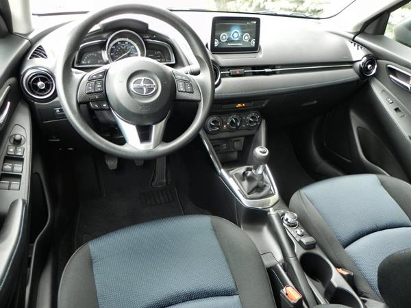 2016 Scion iA - interior 5 - AOA1200px