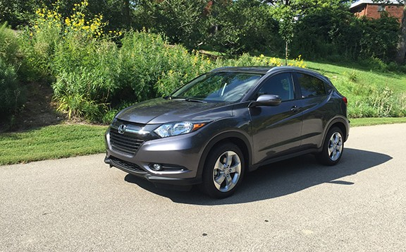 The 2016 Honda HR-V is a new vehicle.