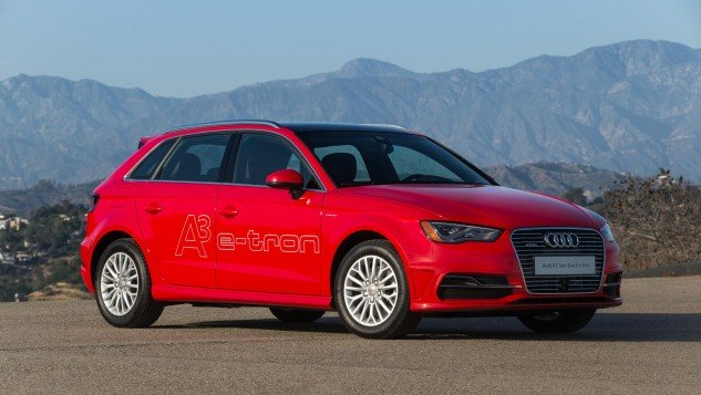 2016 Audi A3 Sportback e-tron-red