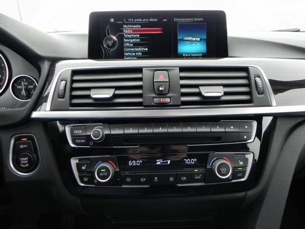 2016 BMW 340i - infotainment - AOA