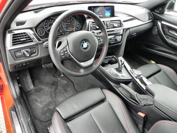 2016 BMW 340i - interior 1 - AOA