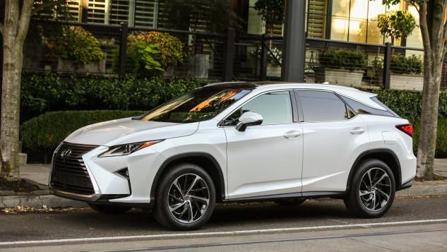 2016 Lexus RX 350-white