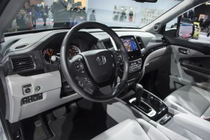 2017 Honda Ridgeline Interior at NAIAS
