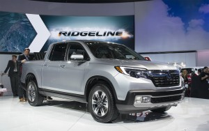 2017 Honda Ridgeline at NAIAS