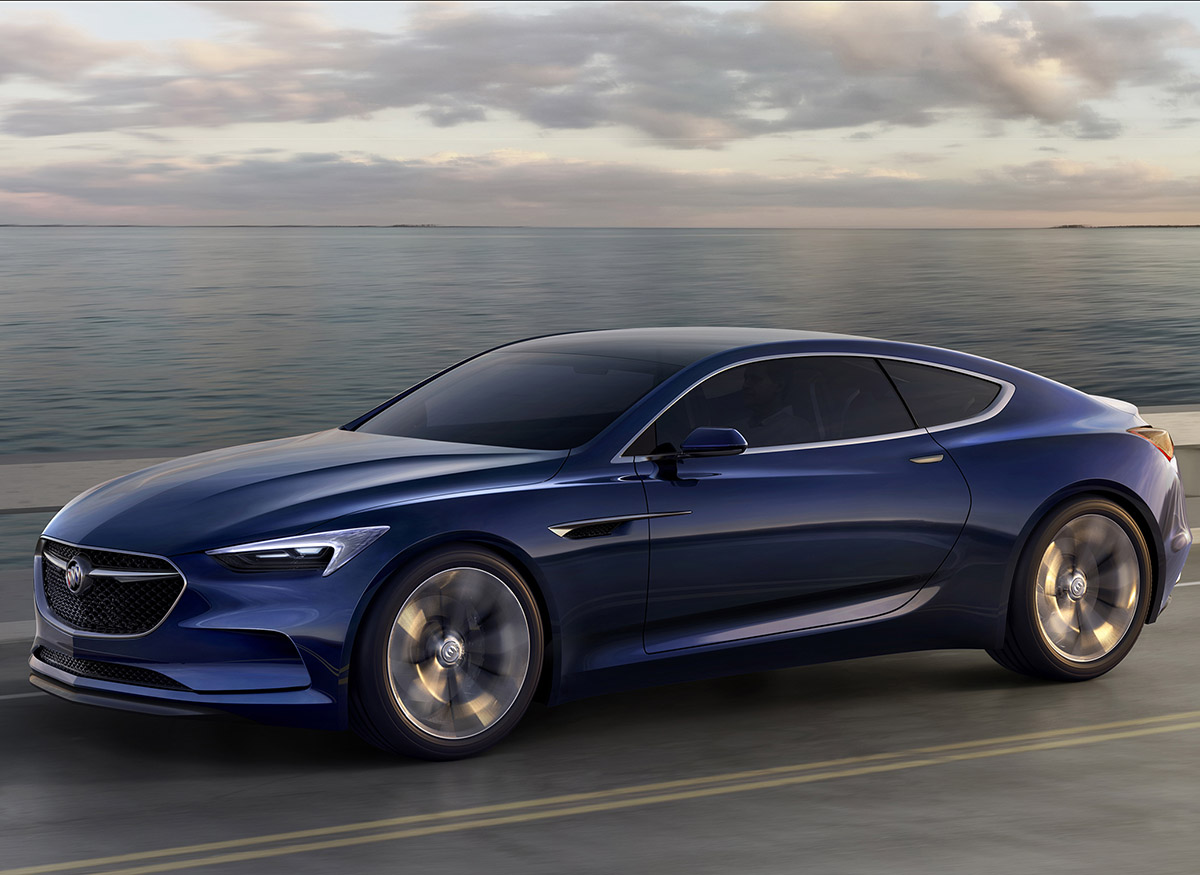 Buick concept cars 2015