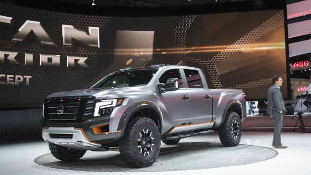 Nissan Titan Warrior Concept at NAIAS 1